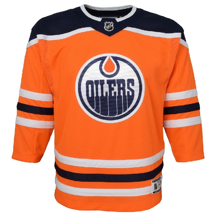 Chandail print Oilers 2/4