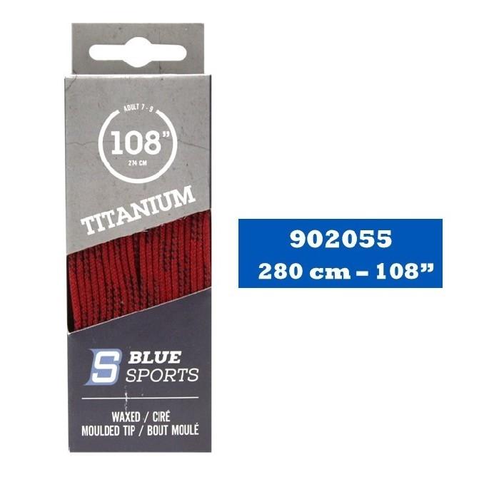 Lacet 96 Rouge