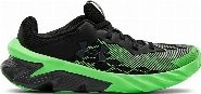 Boys' Grade School UA Charged Scramjet 3 Running Shoes, Black, 3.5