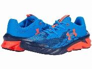 Soulier UA Charged Scramjet 3 Running Shoes Bleu/Rouge