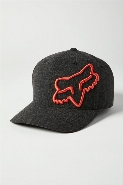 CLOUDED FLEXFIT 2.0 HAT [BLK/ORG] S/M