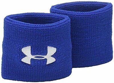 UA Performance Wristbands-Bleu