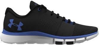 Soulier UA Strive 7 Noir/Bleu-10.5