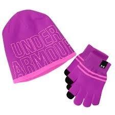 UA Girl's Beanie/Glove Combo