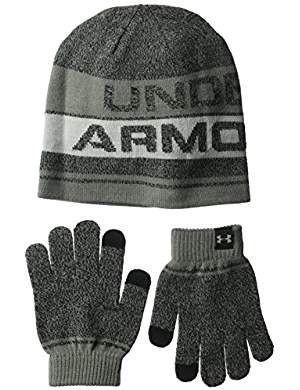 UA Boys Beanie Glove Combo 2.0