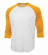 T-Shirt de baseball 3/4 JR