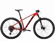 X-Caliber 8, Radioactive Red/Trek Black M/L