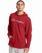 MIDDLEWEIGHTS JERSEY GRAPHIC HOODIE