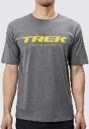 T-shirt Trek, Gris clair