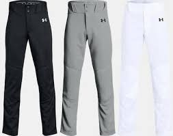 Pantalon Ua Ultility YM Blanc Close