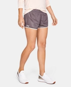 UA PLAYUP SHORT REVERSABLE L