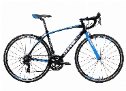 MANTHA, Alloy Frame  / Steel Fork, Caliper Brake, BLACK / BLUE
