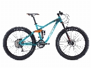TITAN 2, 27,5 ''  LIGHT ALLOY- DOUBLE SUSP - LTWOO DRIVE TRAIN, SEA BLUE