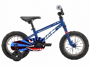 12'' Kid Bike /  Including Push Handle BLUE / WHITE