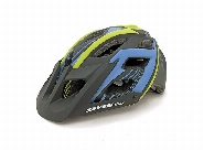 MTB WITH VISOR BLUE / BLACK / GREEN SMALL